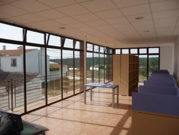proyecto biblioteca cuenca interior